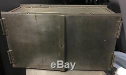 Vintage Industrial Metal Drawers Storage Tool Cabinet