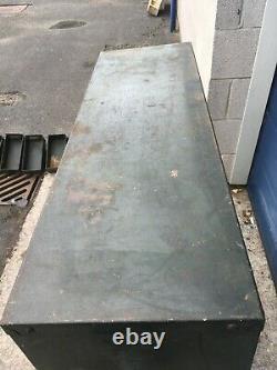 Vintage Industrial Steel Tool/Parts/Storage Cabinet 49 Drawers 107cmx90cmx30cm