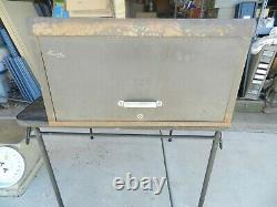 Vintage Kennedy Kits Model 260 Tool Box Chest Machinist Cabinet 6 Drawer