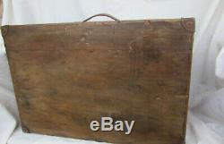 Vintage Multidrawer tool box chest 7 Drawer tool cabinet engineers tool box