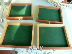 Vintage Union Engineers Tool Box / Chest Collectors drawers Watchmakers cabinet