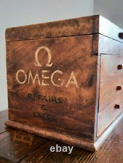 Vintage Watch Makers Tool Cabinet / Drawers