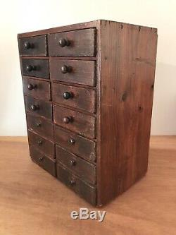 Vintage Watchmakers, Engineers, Collectors, Table Top Cabinet Tool Drawers