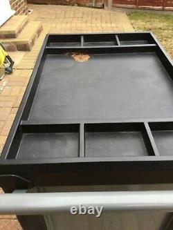 Work Zone Roller Tool Cabinet Storage Chest Box 6 Drawers Garage Workshop BLACK