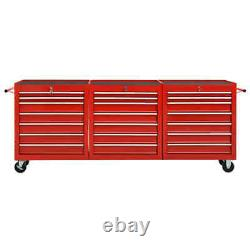 XXXL Workshop Tool Trolley with 21 Drawers Storage Box Cabinet Service Cart Tool