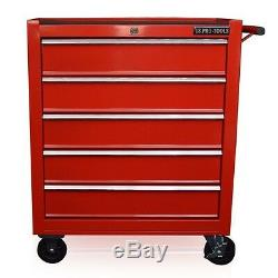 102 Us Red Tools Mécanique Coffre À Outils Armoire À Rouleaux 5 Tiroirs