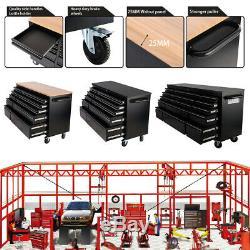 10/15 Tiroirs Servantes Coffre Boîte De Rangement Verrouillables Cabinet Garage Banc De Travail