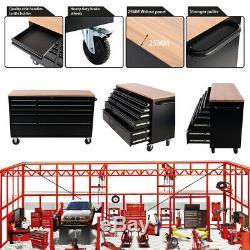 10 Outil De Roulement Tiroirs Boîtes En Bois Armoire Métallique Garage De Stockage Organisateur
