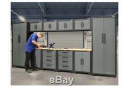 11 Pièces D'outils Cabinet Set De Calibre 24 Atelier Professionnel Stockage Tiroirs Plan De Travail