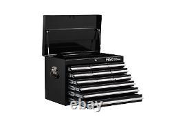 12 Tiroir Tool Chest Black Metal Garage Tools Storage Box Armoire Unit Hilka Pro
