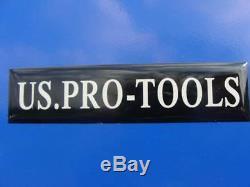 19 Tiroirs Us Pro Blue Tools Pour Coffre À Outils! Armoire À Rideaux Finance Disponible