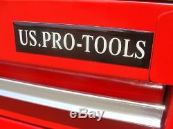 28 Us Pro Tools Coffre À Outils Boîte 23 Tiroirs! Armoire Outil Côté Équilibreuses
