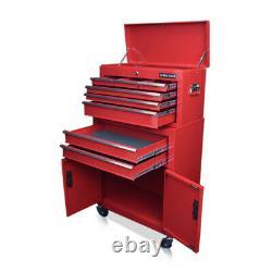351 Nous Pro Outils Gloss Red Tool Coffret Tiroirs Mechanics Roller Cabinet