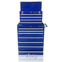 375 Us Pro Blue Tools Abordable Steel Coffret Tool Box Roller Cabinet 11 Tiroirs