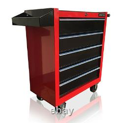 376 Us Pro Red Black Tools Affordable Chest Tool Box Roller Cabinet 5 Tiroirs