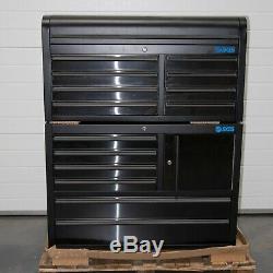 41 Professional 14 Outil Tiroir En Acier Inoxydable Poitrine Et Rouleau Cabinet 6500-6509