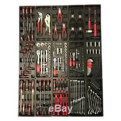 443 Us Pro Tools Coffre À Outils Coffret À 7 Tiroirs Avec 189 Outils Pour Pc