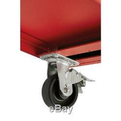 46. 8 Tiroirs Rouleau Cabinet Coffre À Outils Rouge / Noir Texturé Mechanic Boutique Utilisation
