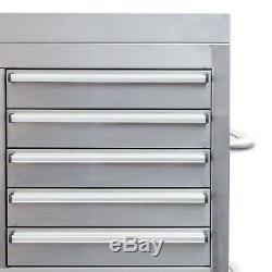 54 En Acier Inoxydable 26 Tiroirs Coffre À Outils Et À Rouleaux Cabinet