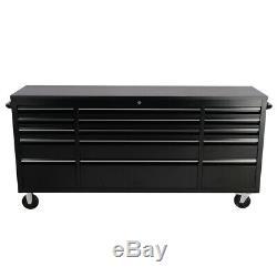 55 '' 72 '' 10/15 Tiroirs Mobile Tool Chest Atelier Boîte De Rangement Cabinet Garage