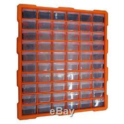 60 Unité Tiroir Multi Double Boîte De Rangement Cabinet Atelier Bricolage Outil Organisateur Case