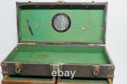 6 Tiroir + Top Cabinet Machinist Tool Chest Box Vintage Wood & Metal