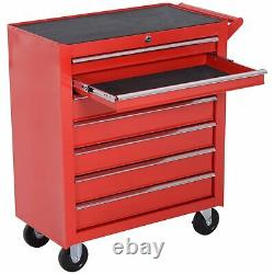 7 Tiroir Tool Storage Mechanics Trolley Garage Workshop Cabinet Cart Chest Box