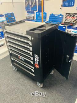 7 Tiroirs Outil Chariot Cabinet 399 Outils Atelier Coffre De Rangement Porte Toolbox