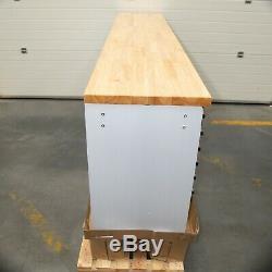96 En Acier Inoxydable 24 Tiroirs Travail Banc Coffre À Outils Cabinet 5661-5665