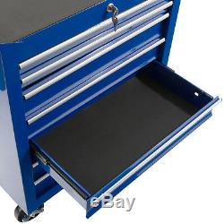 Arebos Outil Chariot 7 Tiroirs Atelier Mobile Chariot Porte-outils Cabinet