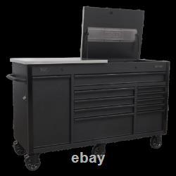 Armoire À Outils Mobile Sealey 1600mm Avec Tiroir De Charge D'outil Électrique Ap6310be