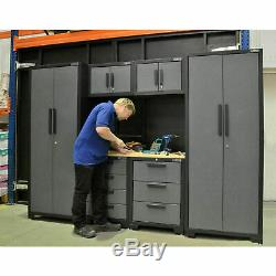 Armoire À Outils Set 24 Gauge Professional Garage Atelier Rangement Tiroirs Plan De Travail