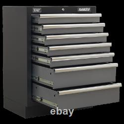Armoire À Tiroirs Sealey Modular 7 680mm Apms62