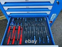 Armoire De Chariot D'outil Avec La Boîte À Outils De Support De Coffre De Stockage D'atelier D'outils D'outils