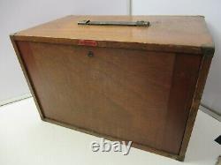 Armoire En Bois Vintage Enox Avec 5 Tiroirs