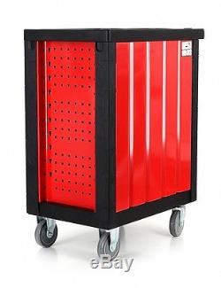 Atelier Trolley Tool Wagen Boîte À Outils Cabinet Complet XXL Nouveau 7 Tiroirs Avec Des Outils