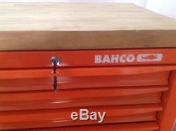 Bahco 4 Haut Tiroirs Boîte À Outils Cabinet