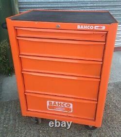 Bahco 6 Tiroir Garage Workshop Pièces Outil Chariot Chariot Coffre Coffre 1470k6