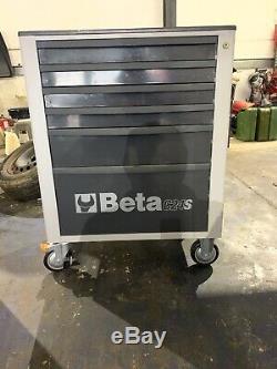 Beta 6 Tiroir Mobile Rouleau Cabinet Gris C24s Boite A Outils