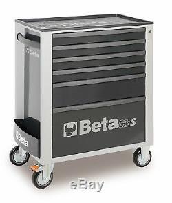 Beta C24s / 6 6 Tiroir Mobile Rouleau Cabinet Gris