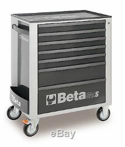 Beta C24s / 7 7 Tiroir Mobile Rouleau Cabinet Gris