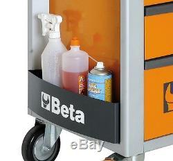 Beta C24s / 7 Armoire À Rouleaux Mobile À 7 Tiroirs Orange