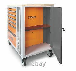 Bêta C24sl-cab 7 Tiroirs Mobile Roller Cabinet + Armoire En Orange