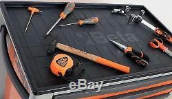 Beta Tools C24s8 / G Boîte À Outils À Roulettes Mobile À Roulettes 8 Tiroirs Rollcab Gris