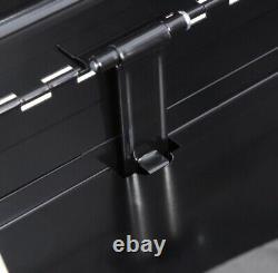 Black 8 Tiroir Robuste Boîte À Outils Outil Coffre Coffre Coffre Coffre Garage Unité De Stockage