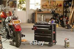 Boîte À Outils À Roulettes Coffre À 5 Tiroirs Outils Organisateur Garage De Rangement Verrouillable