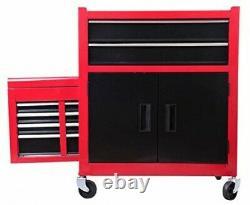 Boîte À Outils De Rangement De L'atelier Cabinet Avec Tiroirs Panier De Service Coffret D'outils