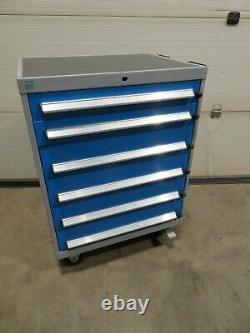 Bott 6 Tiroir Mobile Tool Box Trolley Cabinet Workshop Storage Livraison Gratuite