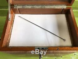 C1930 Vintage Dentistes Dental Oak Cabinet Collectionneurs Industriels Tiroirs Outils