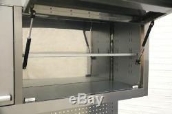 Cabinet En Acier Inoxydable Sealey Mobile Outil 10 Tiroir Avec Backboard